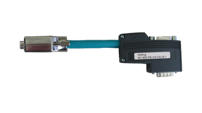 Rückwirkungsoptimiertes PROFIBUS D-Sub Adapterkabel