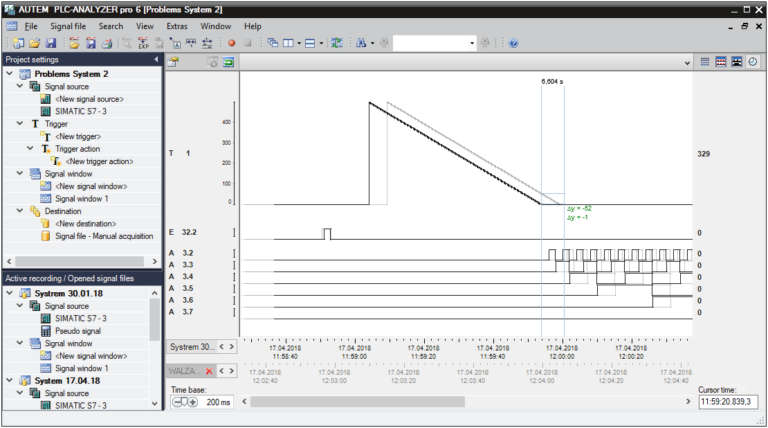 PLC-ANALYZER pro 6 - Condition monitoring_Content