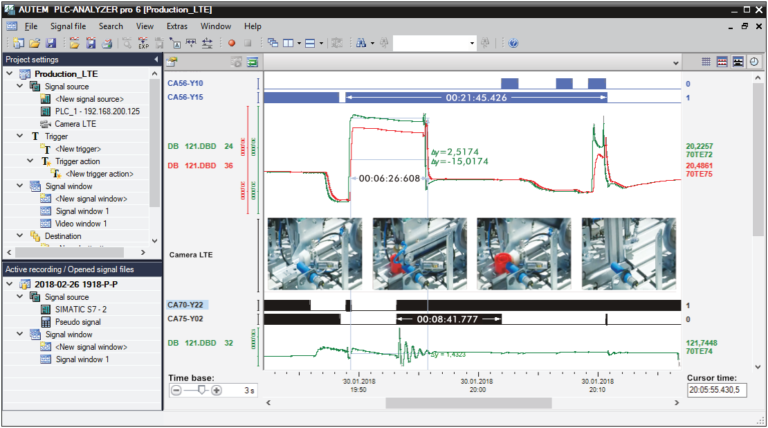 PLC-ANALYZER pro 6 - Troubleshooting with video support