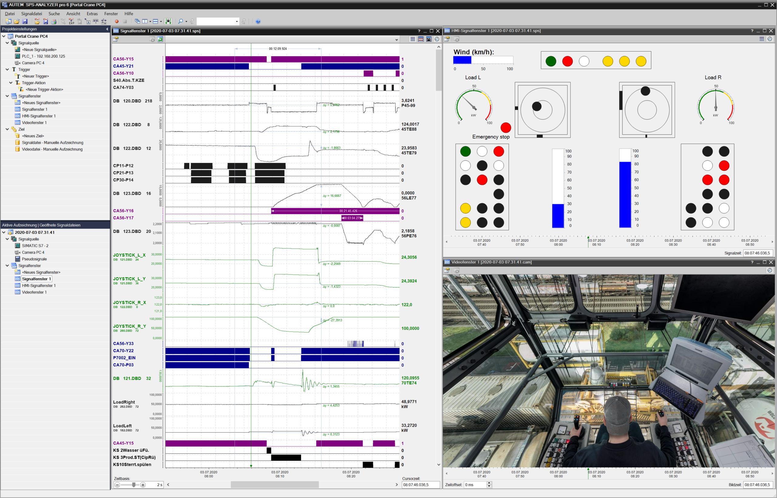 SPS-ANALYZER pro 6 - HMI+Video+Signal