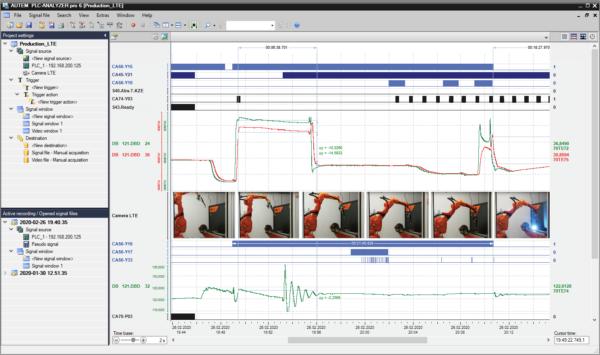 PLC-ANALYZER pro 6 with Videotrack module
